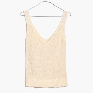 NWOT Madewell Sweater Tank Top